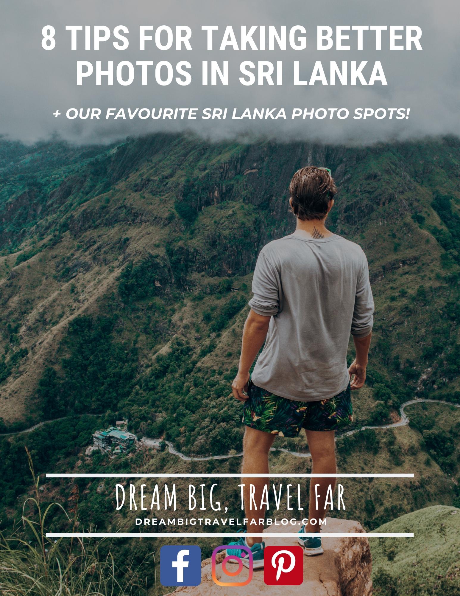 Sri Lanka photo tips cover image