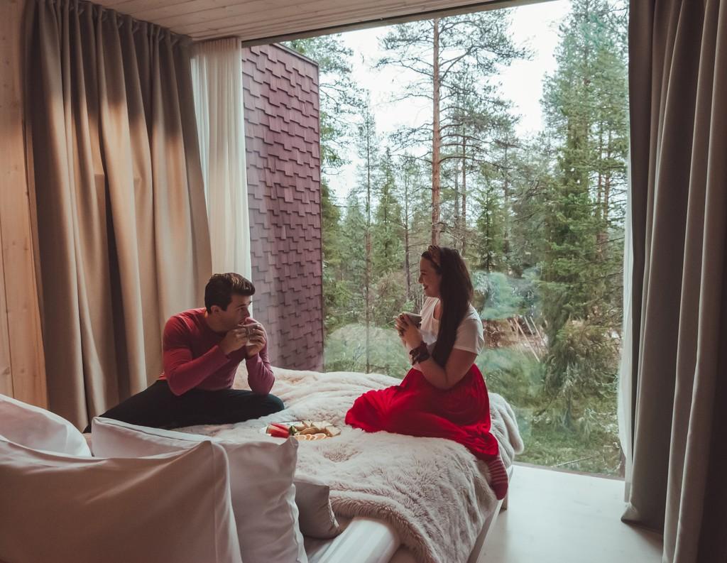 romantic places in rovanemi