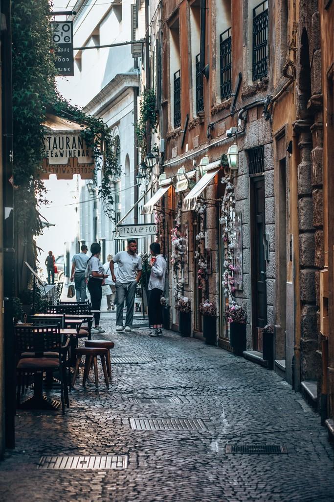 romantic places in verona