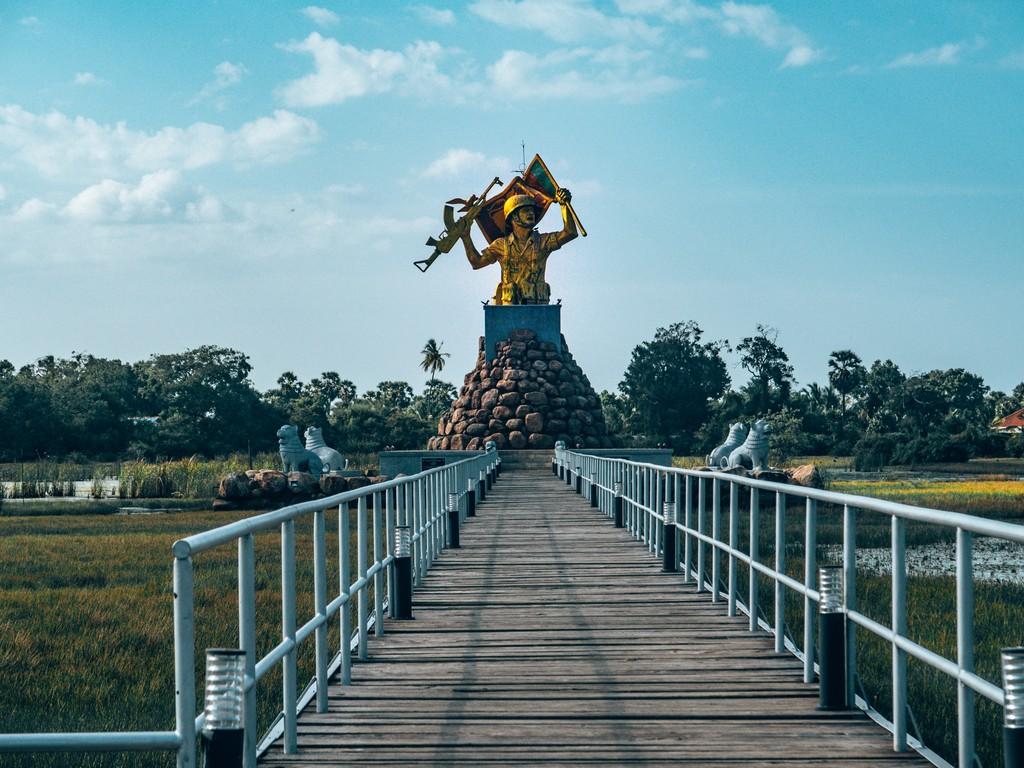 Mullaitivu  war memorial