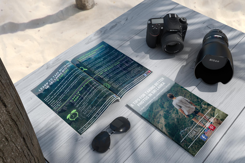 eBook on beach cover