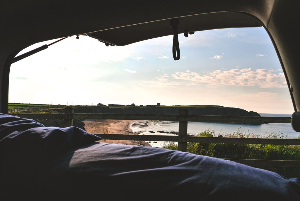 wild camping in waterford