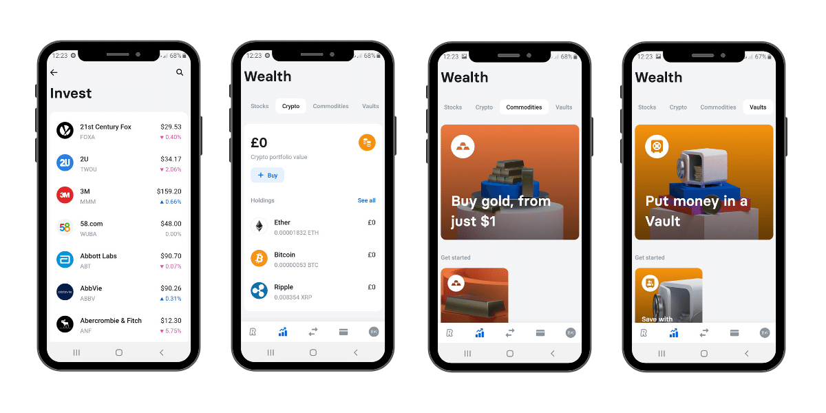 Revolut premium features