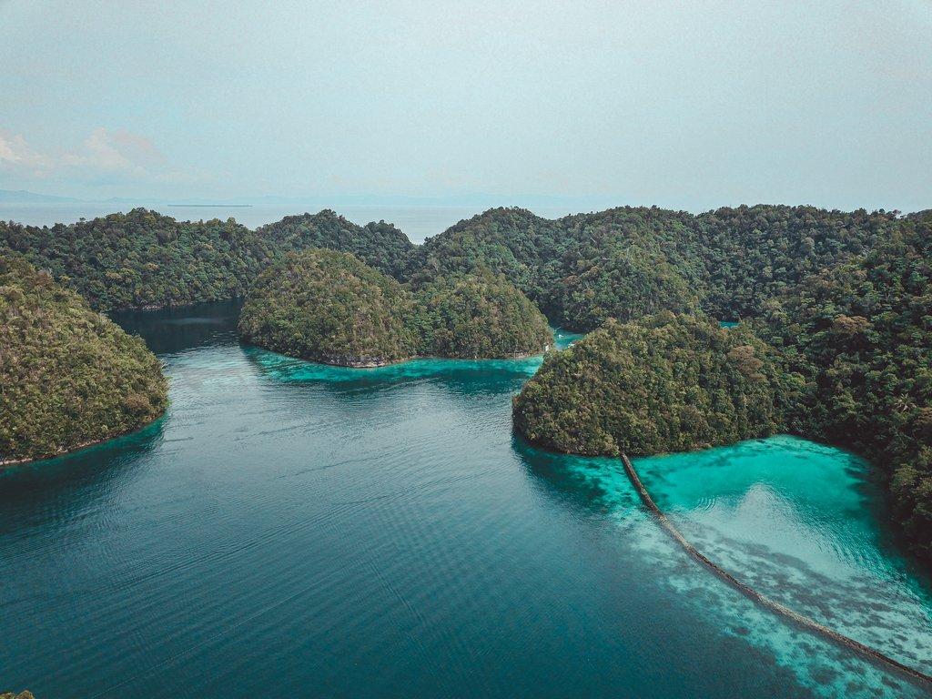 sugba lagoon in siargao
