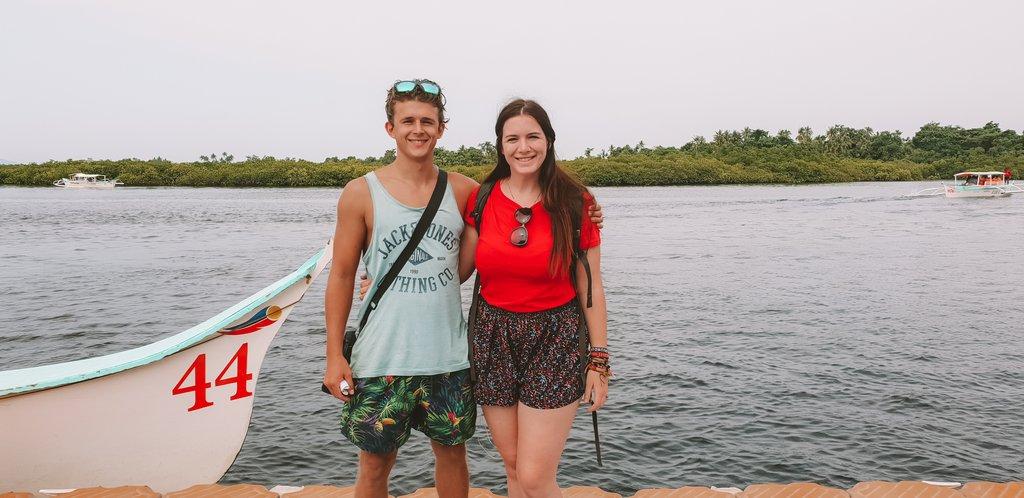 visiting the sugba lagoon