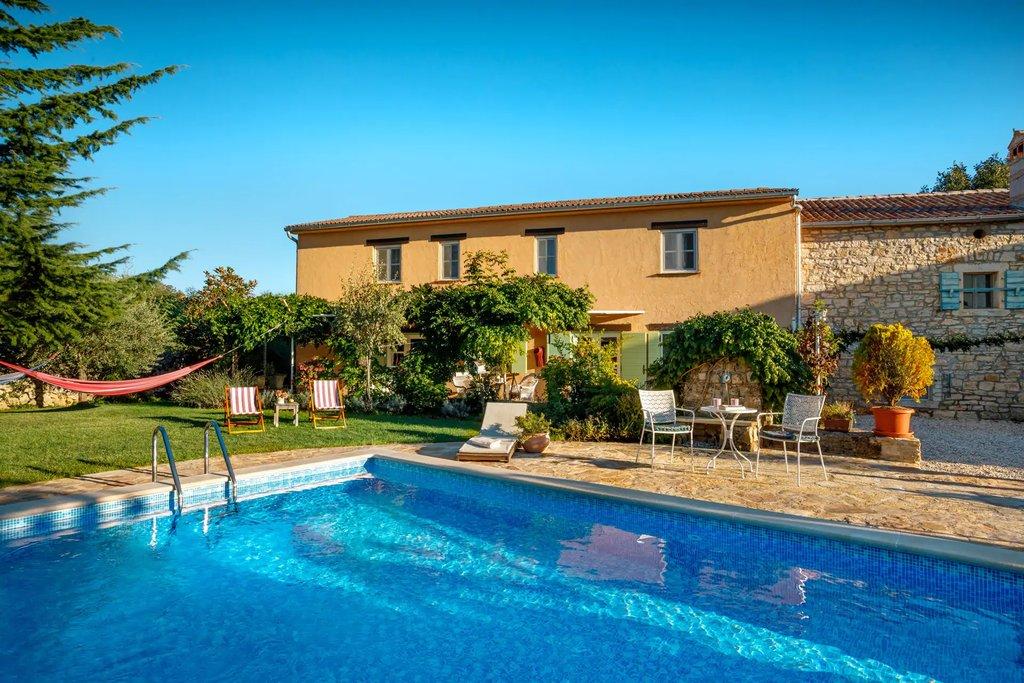 secluded villa in croatia