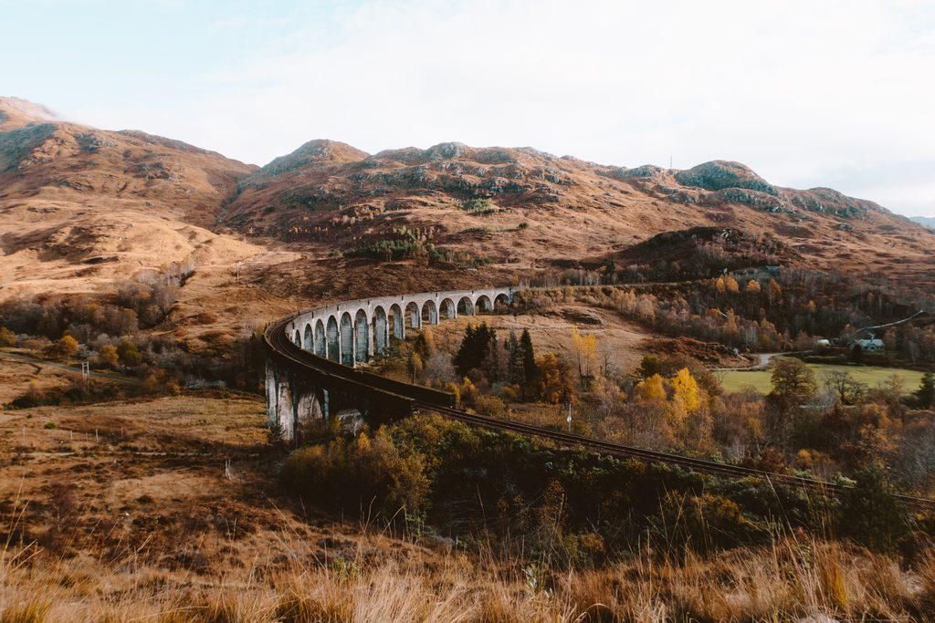 harry potter scenes viaduct