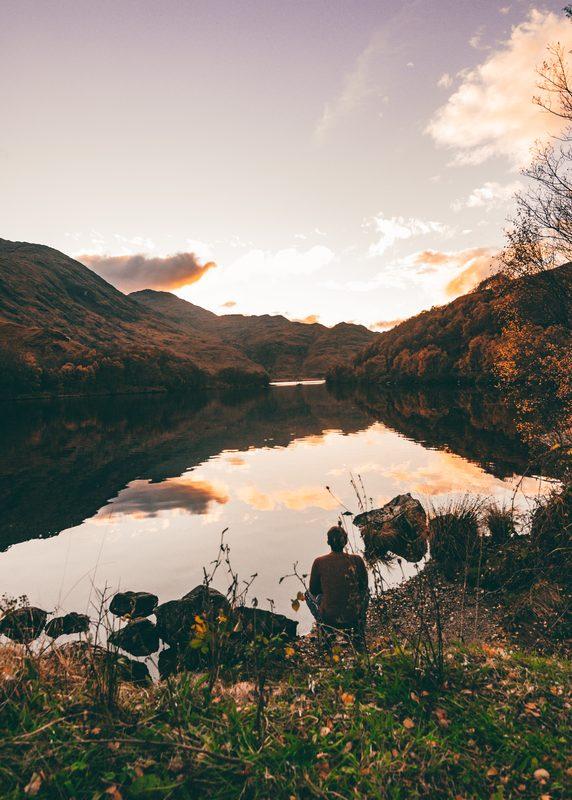 wild camping at loch eilt