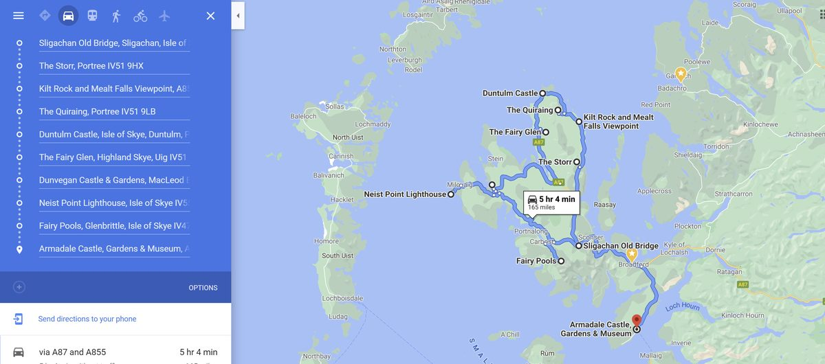 3 day isle of skye road trip itinerary
