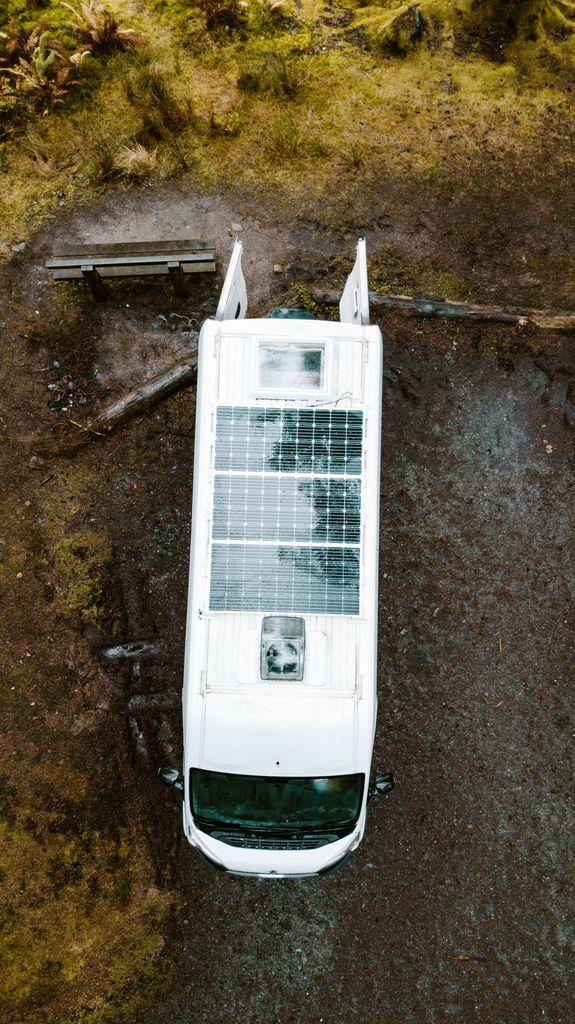 van conversion solar panels