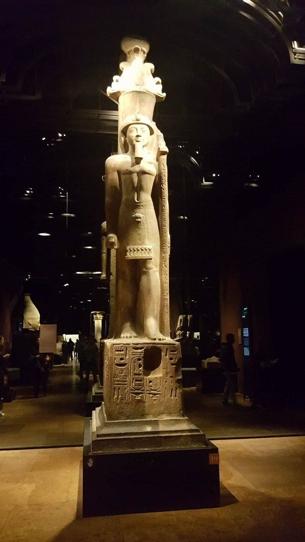 Statue in Egyptian museum, Turin