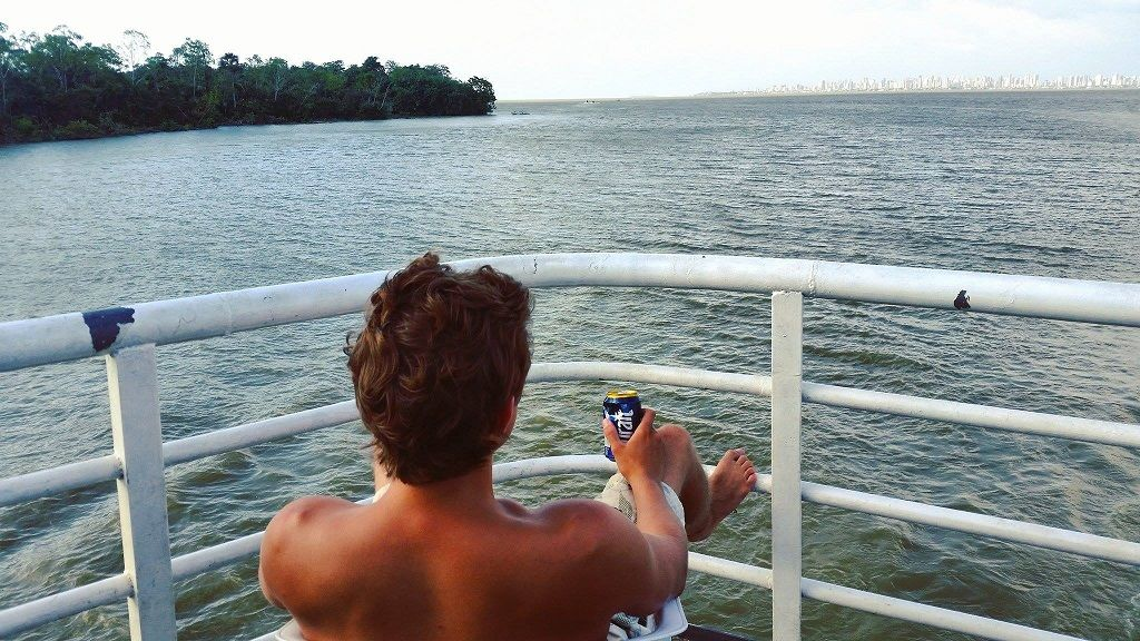 Amazon riverboat cruise, South America