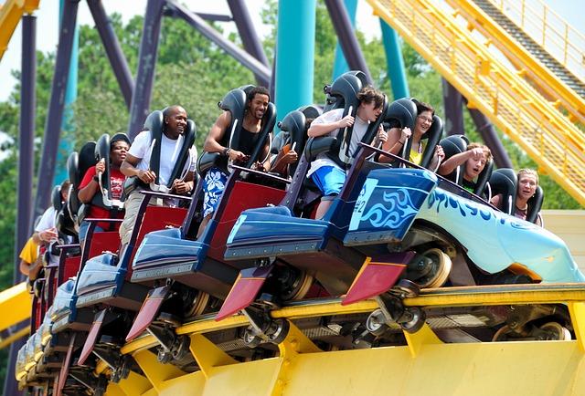 amusement park smiles
