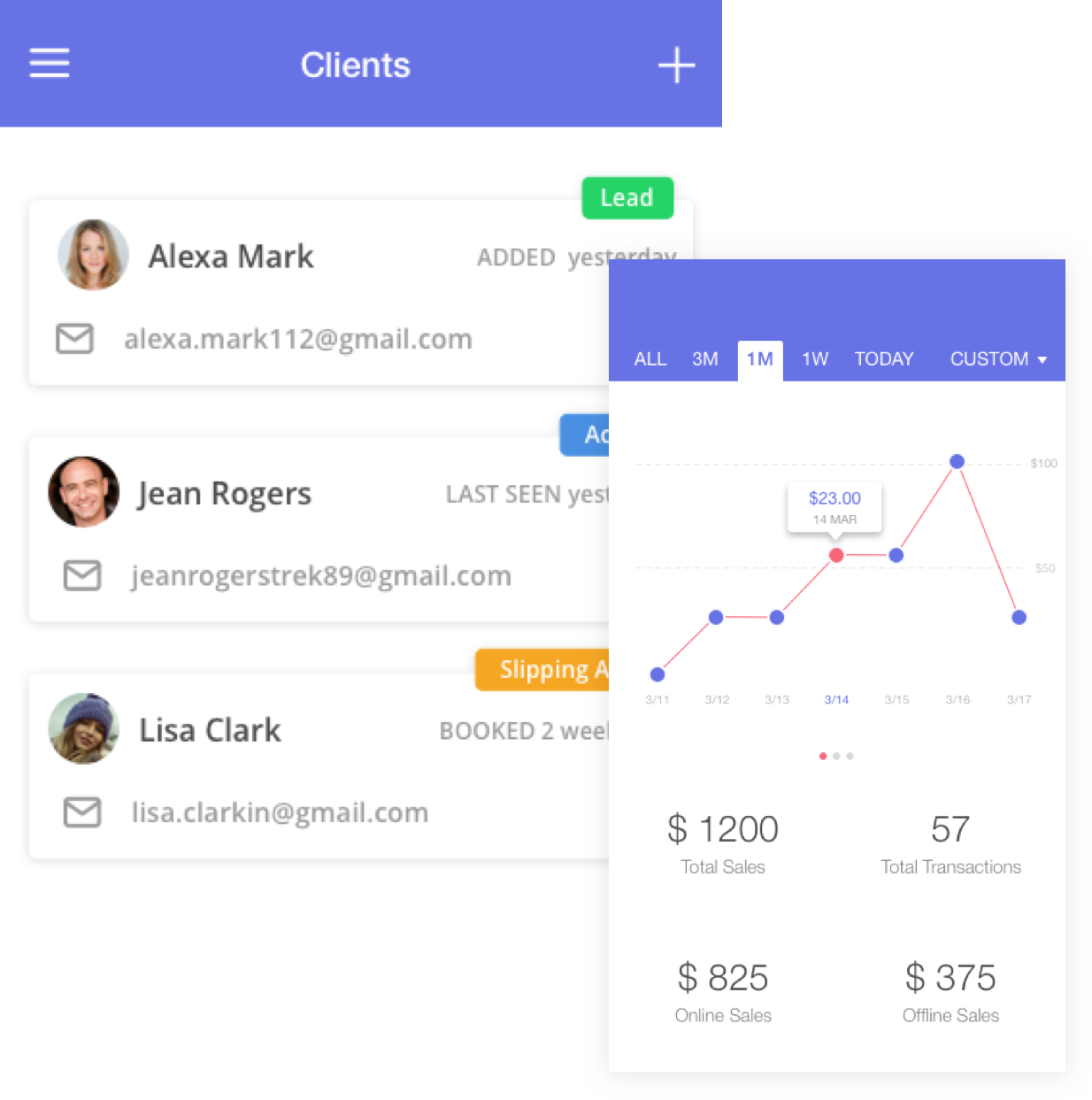 mobile app appointment management