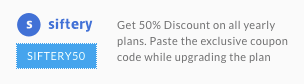 Sifter 50% discount code