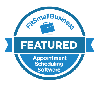 FitSmallBusiness badge for Appointment Scheduling Software.