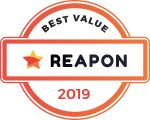 Reapon 2019 badge.