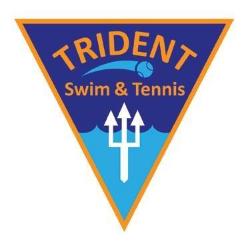 Trident Swim & Tennis logo