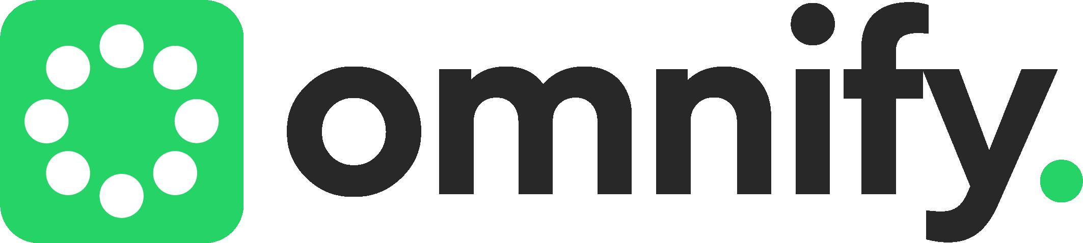 Omnify's dark logo