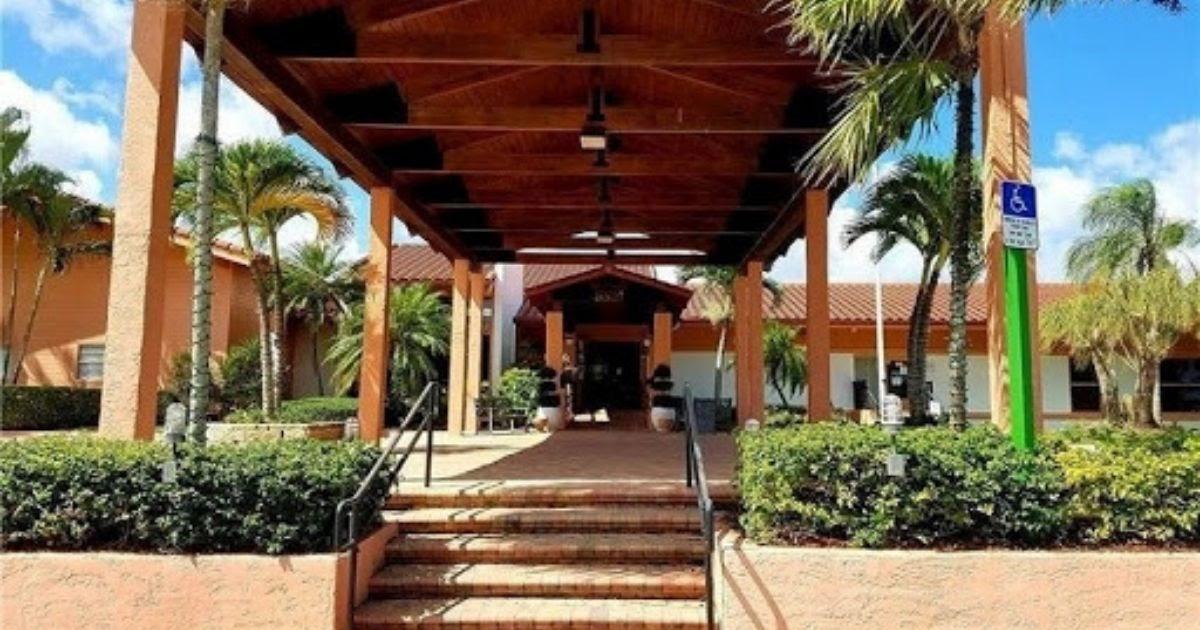 Palm Greens Recreational Association at Delray Florida