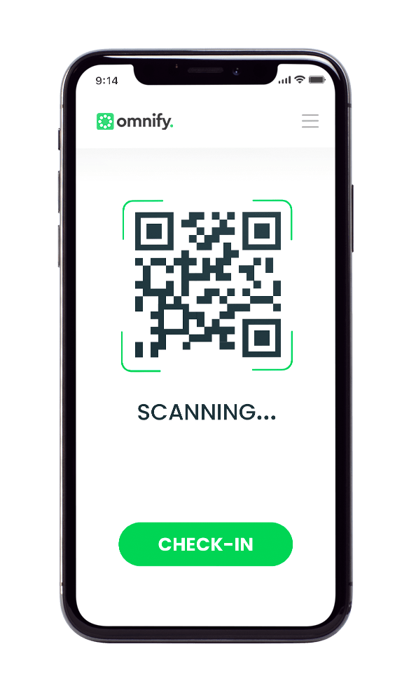 Omnify Digital QR Code scan