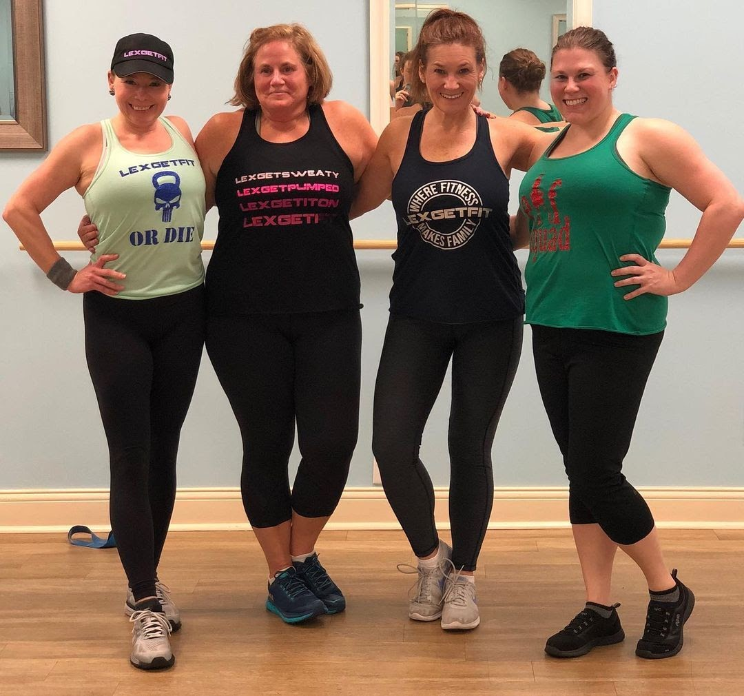 LexGetFit fitness instructors in their studio in Kentucky, United States