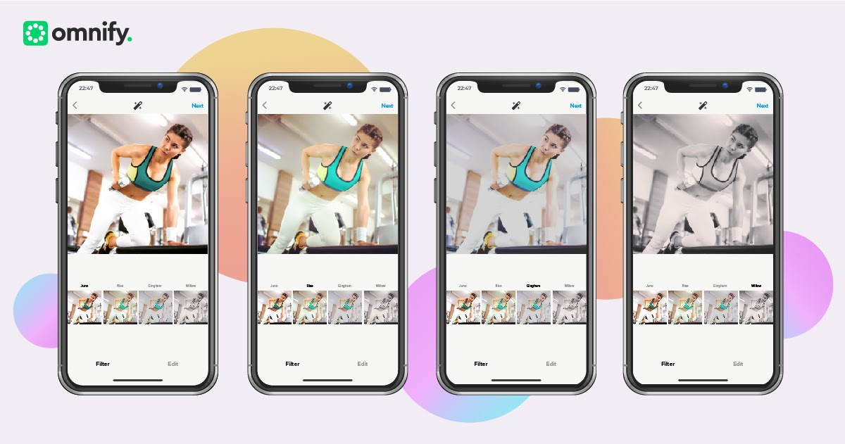 How different instagram filters changes the impact of your fitness studio marketing