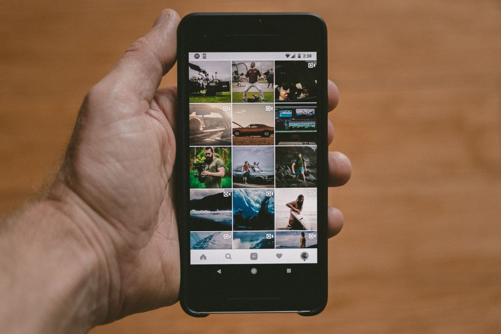 Engage instagram followers with variety of content