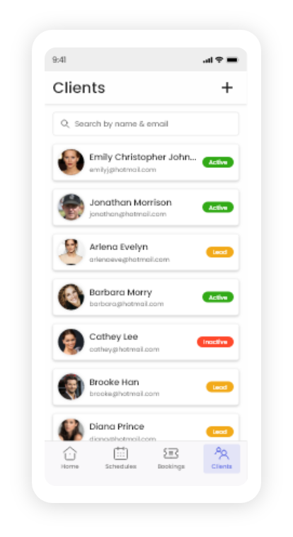Mobile customer management on Omnify