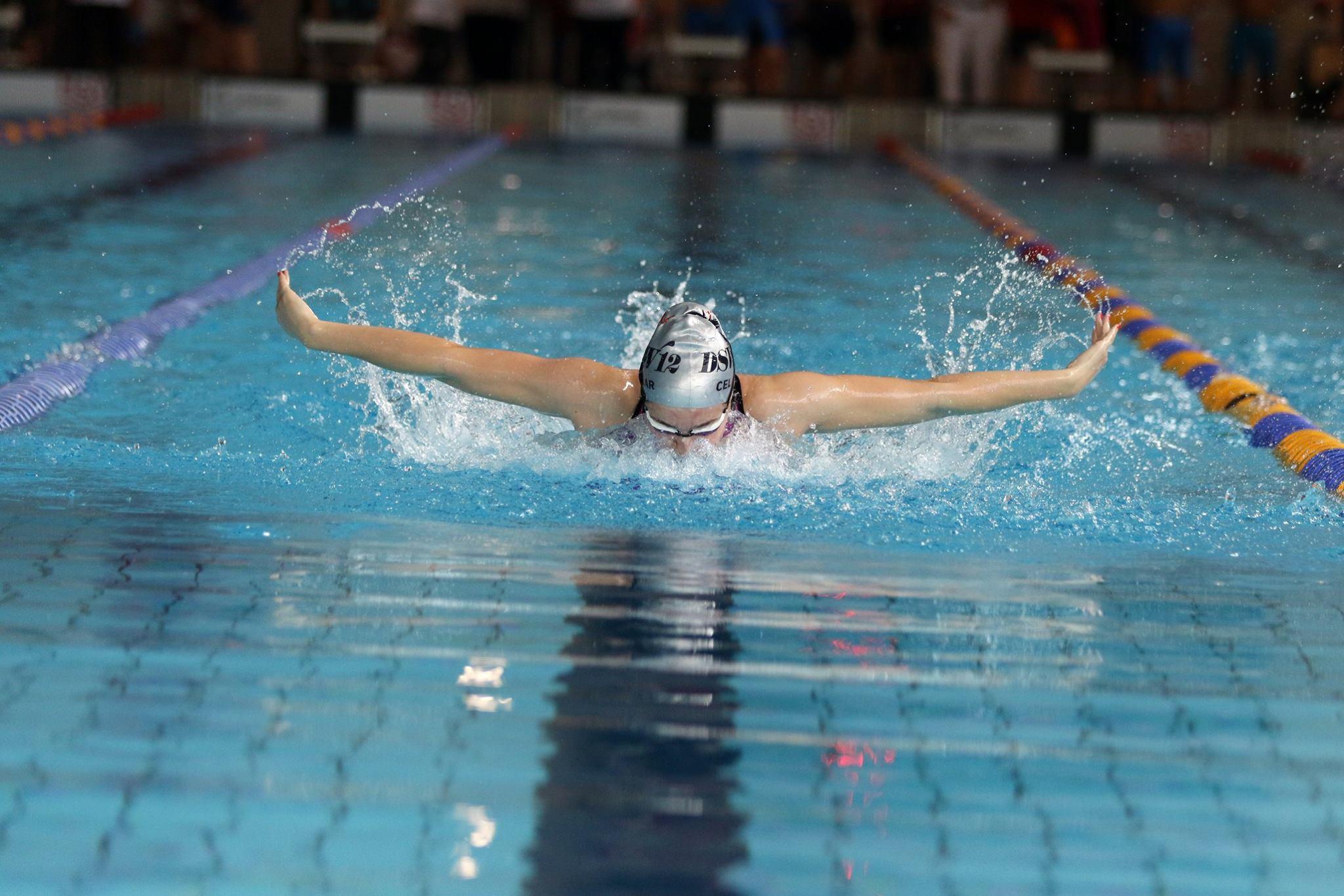 A swimmer at DSW 12 Darmstadt