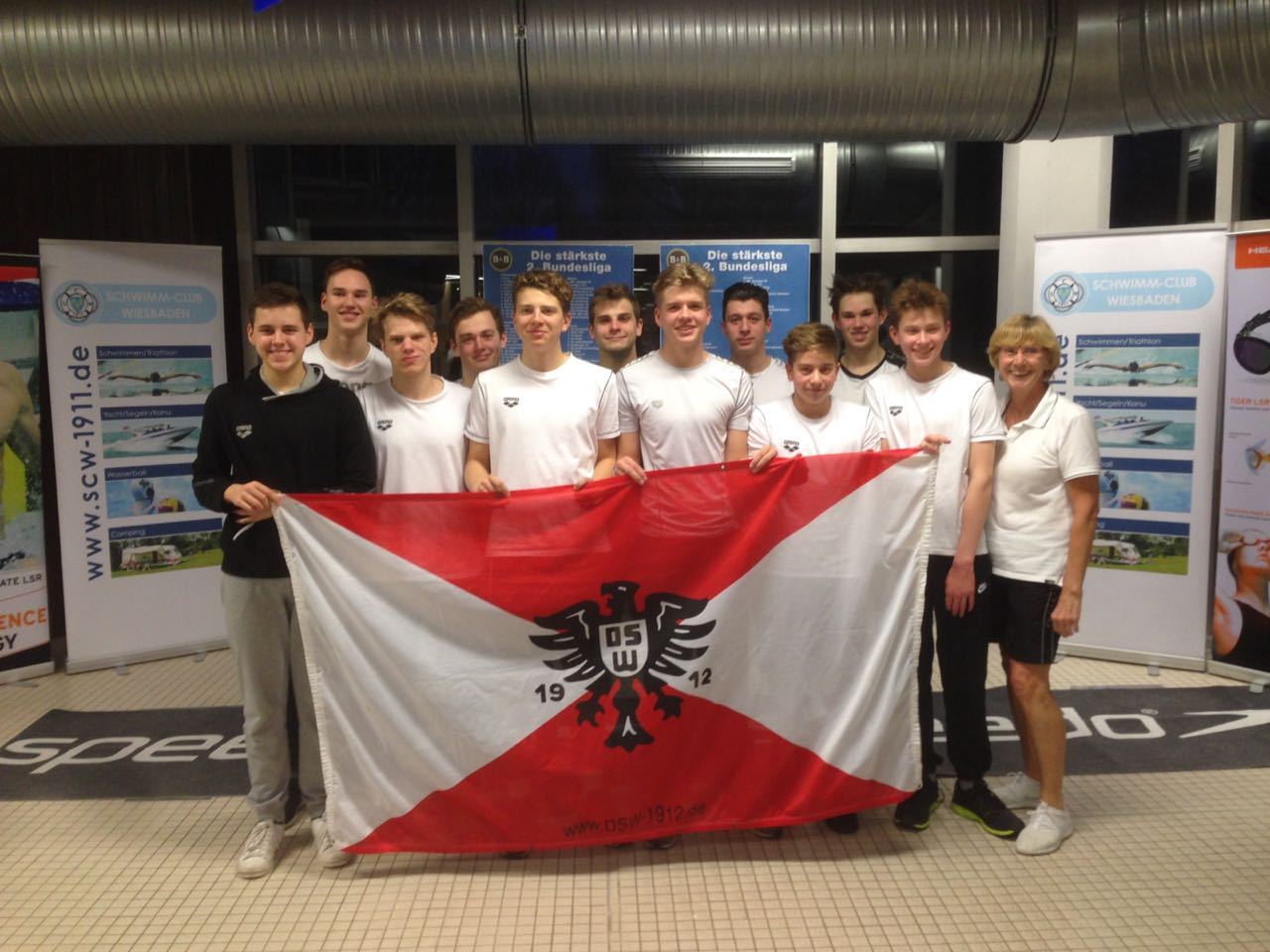 DSW 12 Darmstadt swimming team