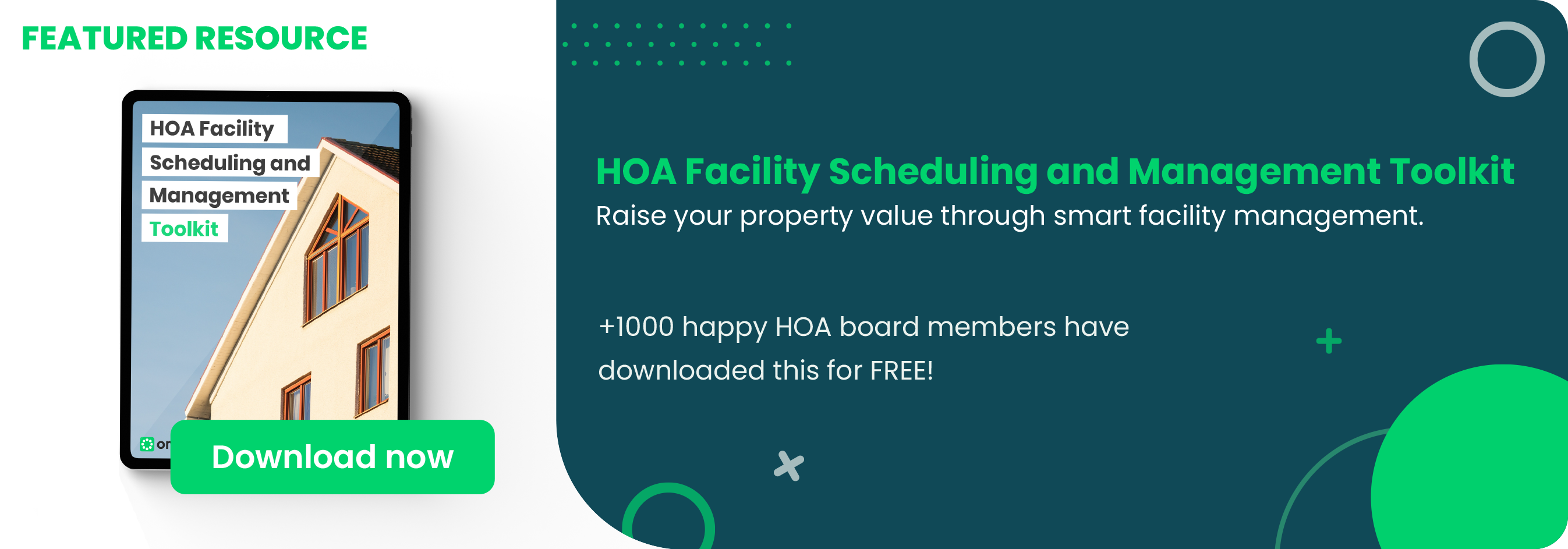 HOA Facility Scheduling and Management Toolkit