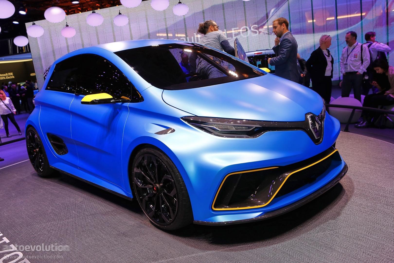 Renault ZOE  e-Sport 3,2 sek. í 100