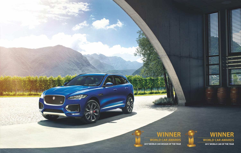 Jaguar F-Pace kjörinn sá besti og fallegasti