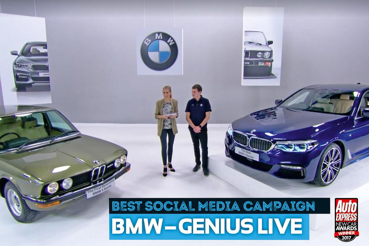 BMW hlaut fern verðlaun hjá Auto Express