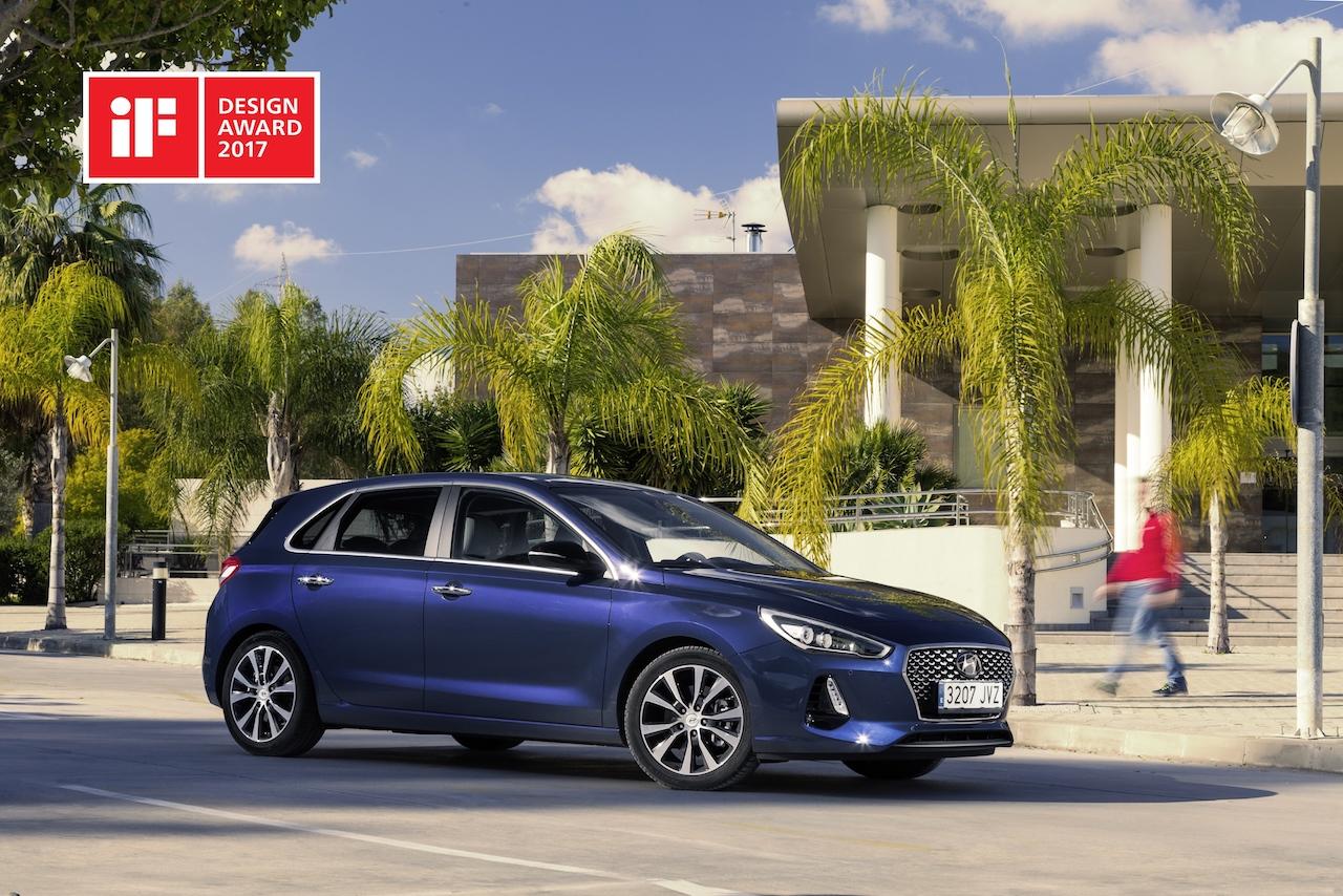 Hyundai hlaut þrenn 1. verðlaun í Automotive Brand Contest 2017