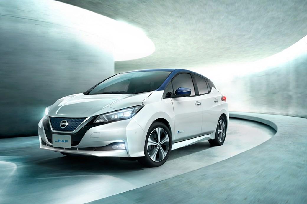 Nissan Leaf besta framleiðsluvaran á sviði grænna orkugjafa