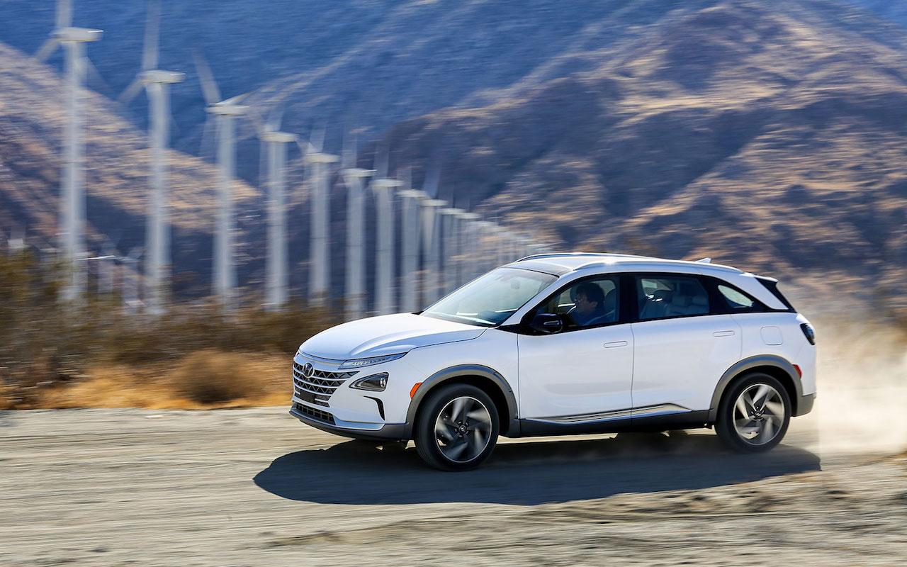 NEXO er nýr rafknúinn vetnisbíll frá Hyundai
