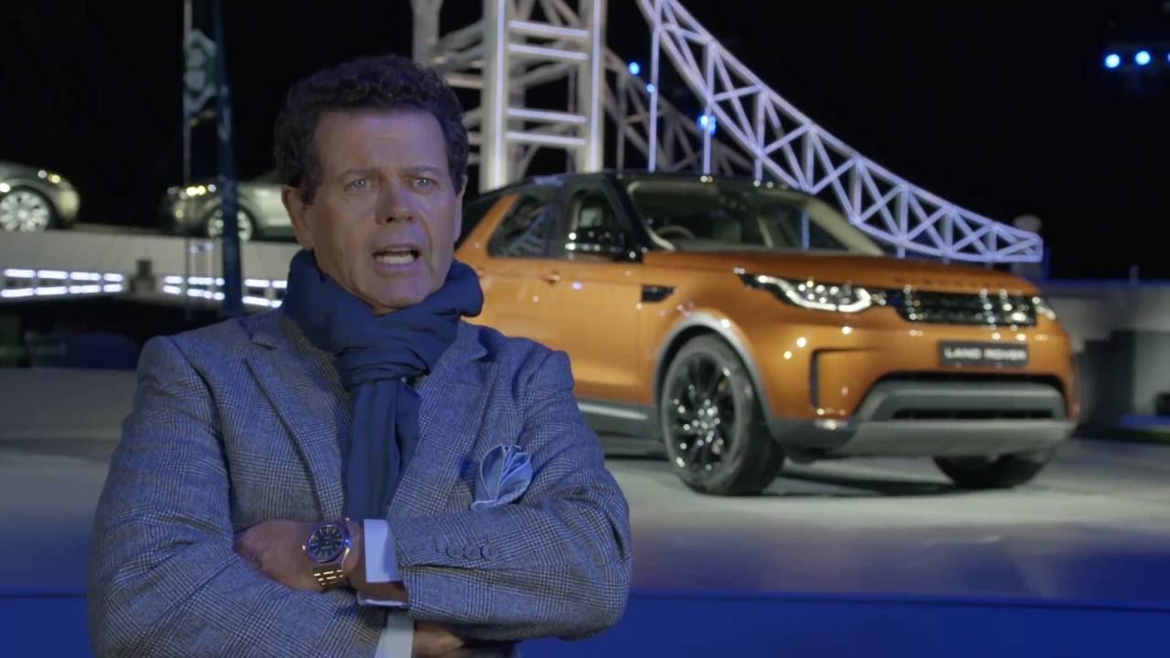 Gerry McGovern hjá Land Rover er hönnuður ársins