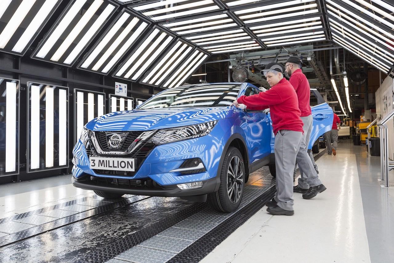 Nissan hefur framleitt og selt yfir þrjár milljónir Qashqai