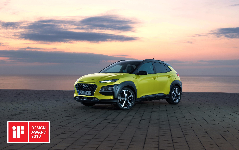 Hyundai Kona og i30 Fastback handhafar iF Design Award 2018
