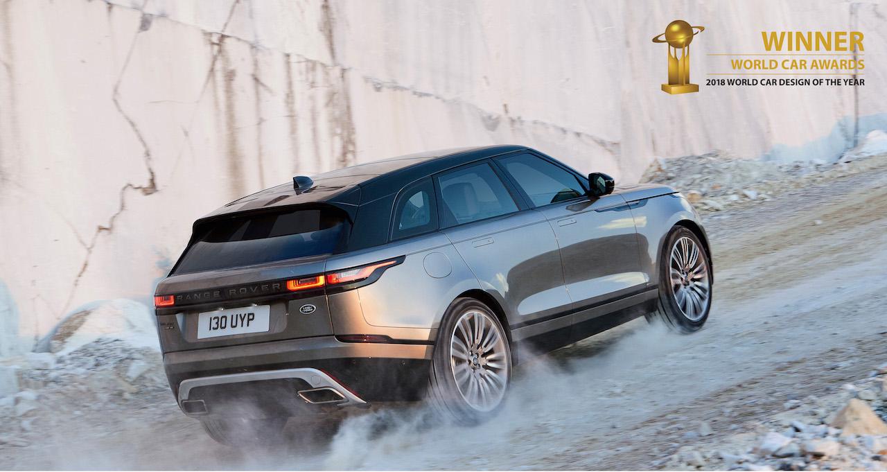 """Range Rover Velar er """"Fallegasti bíll heims"""""""