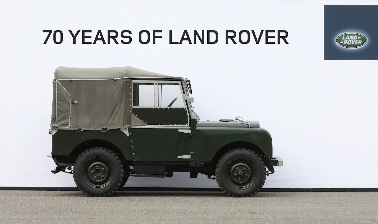 Hátíðarsýning í tilefni 70 ára afmælis Land Rover