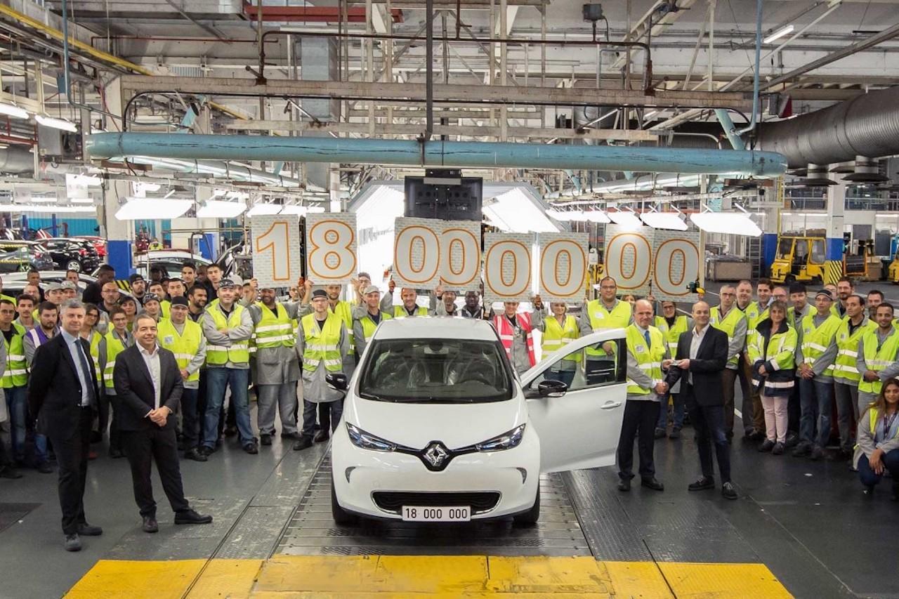 Renault margfaldar fjárfestingar í rafbílaframleiðslunni