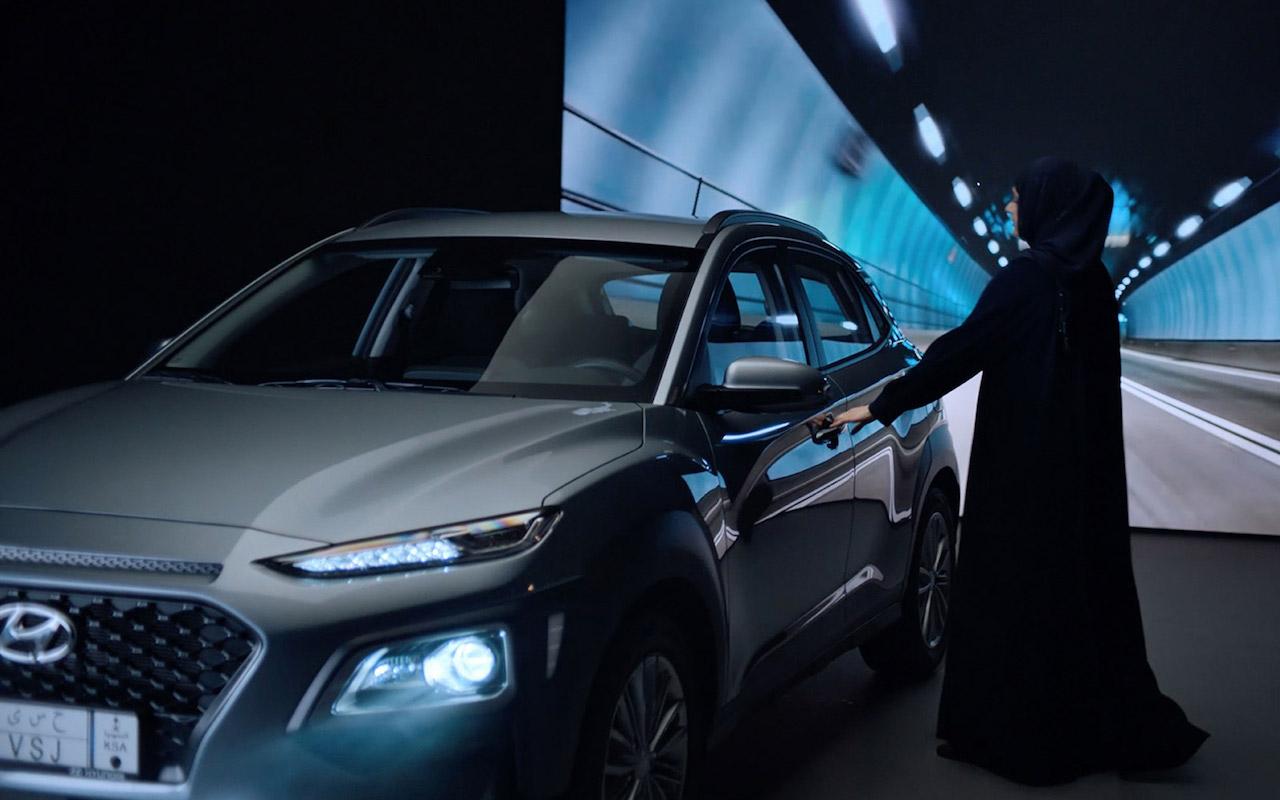 Hyundai fagnar ökuréttindum kvenna í Saudi Arabíu