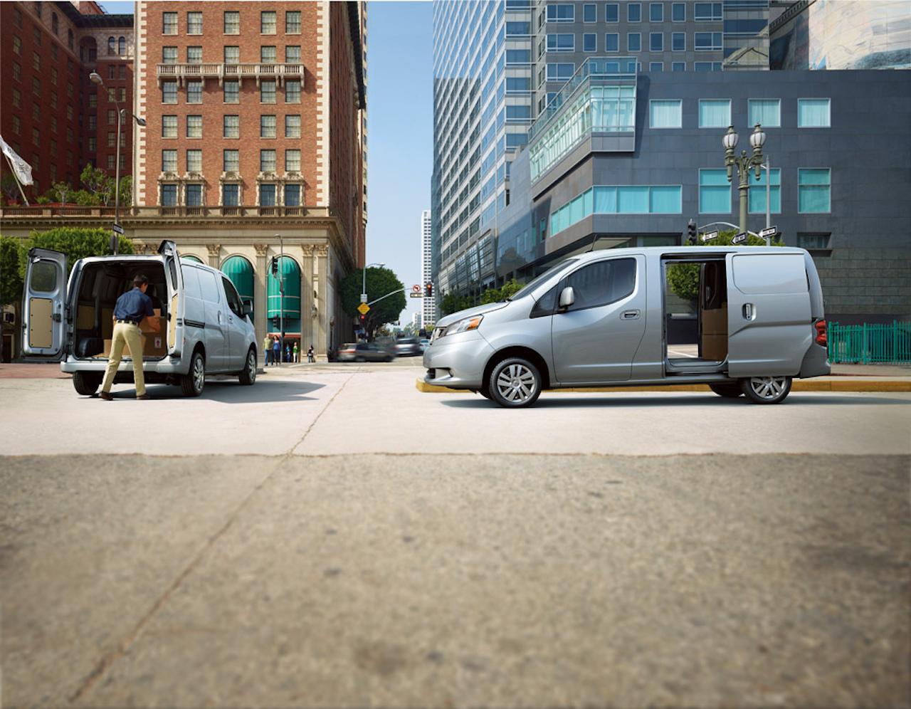 Nissan e-NV200 er einn hentugasti rafknúni borgarsendibíllinn