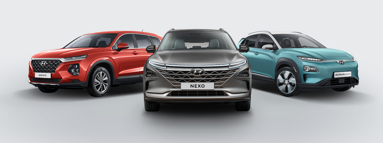 Hyundai Santa fe, Kona og Nexo handhafar silfurverðlauna IDEA