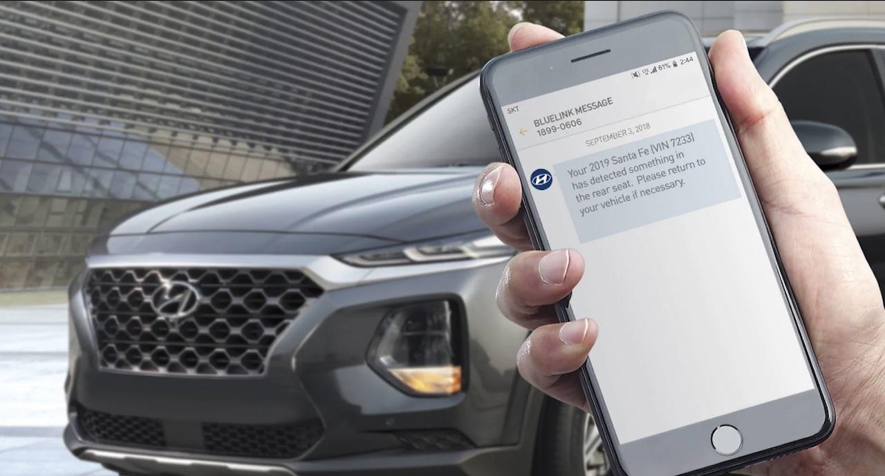 Hyundai varar við gleymir þú barninu í bílnum