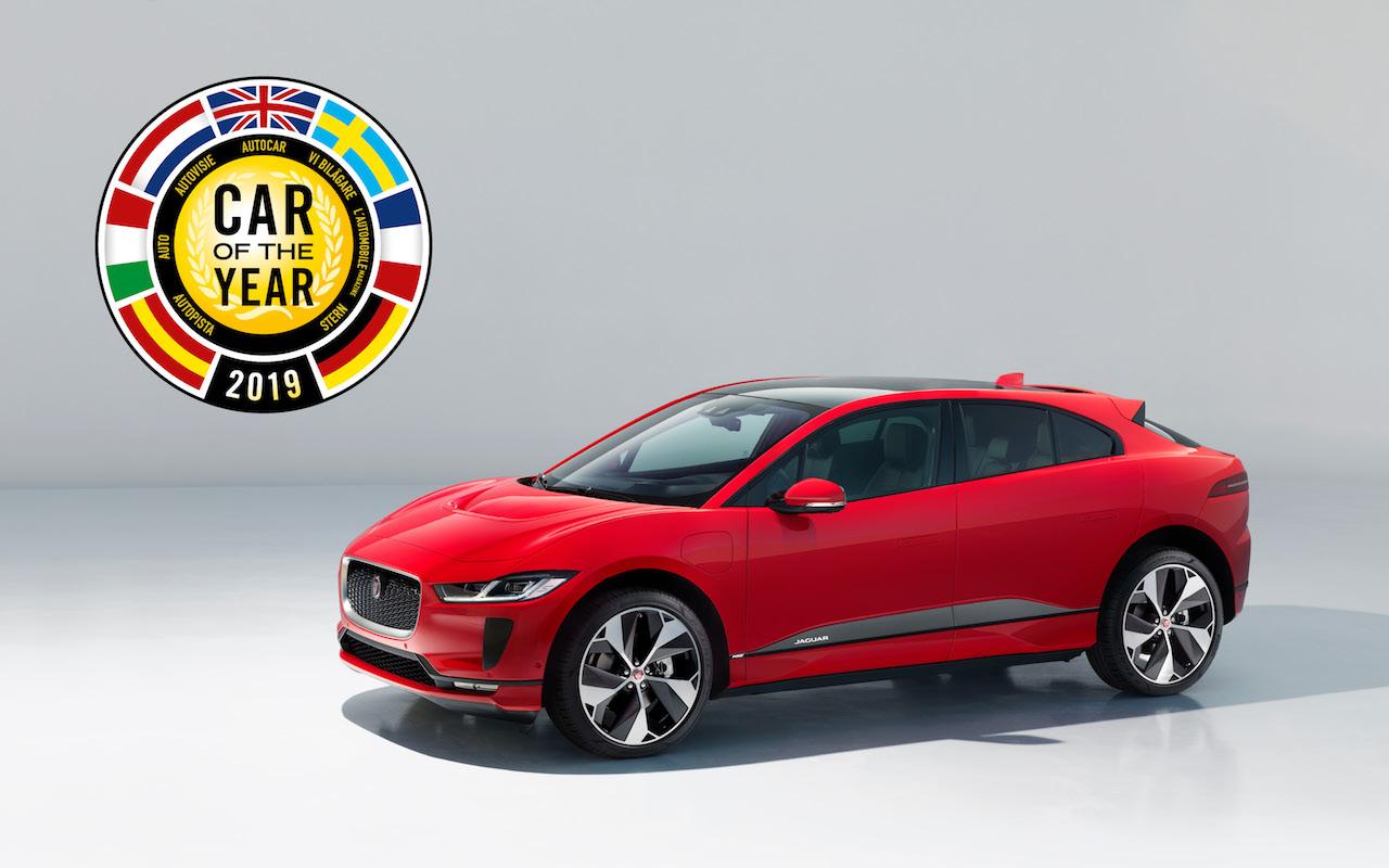 Jaguar I-Pace Bíll ársins 2019 í Evrópu