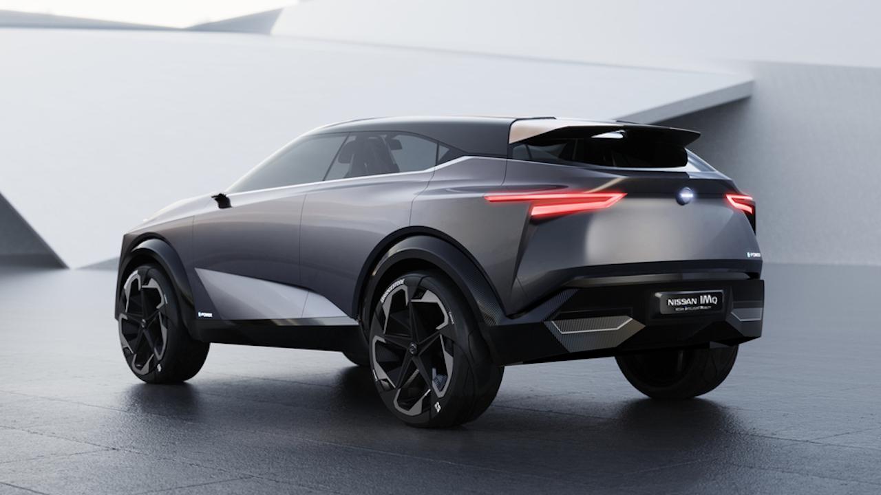 Nissan kynnti rafknúna jepplinginn IMQ Concept í Genf